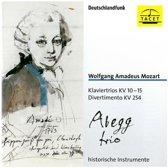 Mozart: Piano Trios Kv10-15, Divert