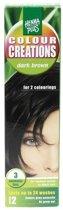 Hennaplus Colour Creations 3 Dark Brown - Haarverf
