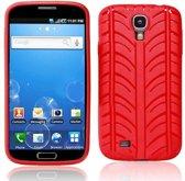 TPU hoes Rood- Samsung Galaxy S4 I9500