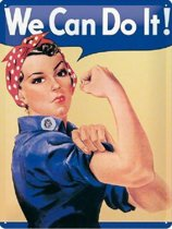 We can do it metal sign 15x20 cm