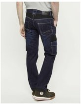 247 Jeans Spijkerbroek Grizzly D30 Donkerblauw - Werkkleding - L34-W33