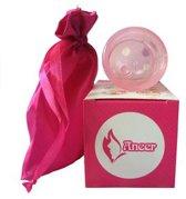 Menstruatiecup - Duurzaam alternatief voor Tampons - Maat S - Siliconen Menstruatiecup