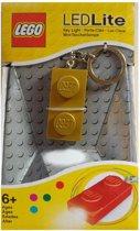 Lego: LED Key Light (met batterijen) kleur: goud x3, zilver x3)