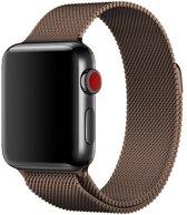 123Watches.nl Milanees bandje - Apple Watch Series 1/2/3/4 (42&44mm) - Bruin