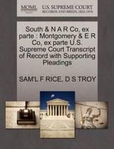 South & N A R Co, Ex Parte