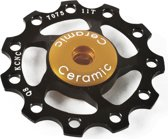 KCNC Jockey Wheel 11T Keramische Lagers, black