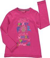 Losan Meisjes Shirt Roze met studs - H25 - Maat 128