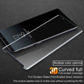 3D Curved Tempered Glass Full Screen Protector Samsung Galaxy Note 8 - Transparant