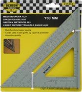 Aluminium Meetdriehoek 150mm - Meet driehoek - Meten