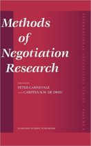 Methods of Negotiation Research