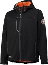 Helly Hansen 74012 Leon softshell jas zwart maat XL
