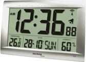 TECHNOLINE WS8009 JUMBO-klok / wekker (27 x 36,9 cm), radio-controlled, met weergave temperatuur en luchtvochtigheid