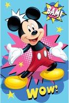 Disney Mickey Mouse Fleeceplaid - 100 x 150 cm - Multi