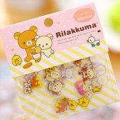 Rilakkuma Illustratie Beertje Beer Kawaii Seal Bits Stickers Klein 80 stuks B
