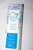 O7 active tandpasta 75 ml 2 verpakkingen 8718347282318