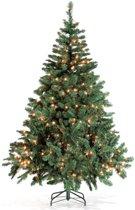 Royal Christmas Dakota PVC Kunstkerstboom - 150 cm - met 150 geintegreerd warm LED lampjes