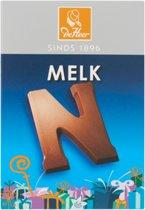 De Heer chocoladeletters melk - assortidoos 60x 65g