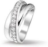 Huiscollectie 1314779 Zilveren zirkonia ring