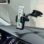 Anker Multi-Angle telefoon houder voor in de auto Geschikt o.a. voor uw iPhone 4 / 4S / 5 / 5S / 6 / 6S / 6S 7 / Plus , Samsung Galaxy S5 S6 S7 Edge S8, HTC, Nokia, Huawei, LG, Sony etc.