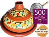 6 Pers. TAJINE VOORDEELPAKKET,  190 gr kruiden, kookboek, vlammenverdeler
