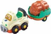 VTech Toet Toet Auto's Jimmy Jeep & Aanhanger - Speelfiguur