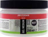 Gel medium mat 250 ml flacon