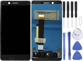 Let op type!! LCD-scherm en Digitizer voor Nokia 7 (zwart)
