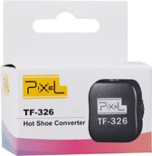 Pixel Hotshoe Adapter met X-Contact TF-326 voor Canon