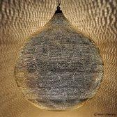 Nour Lifestyle Arabische hanglamp Uma met gaatjes - maat XXL