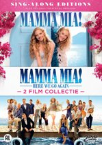 DVD cover van Mamma Mia! The Movie & Mamma Mia! Here We Go Again