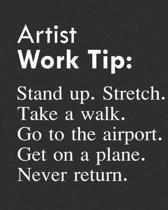 Artist Work Tip