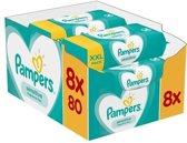 Pampers Sensitive Billendoekjes 640 stuks