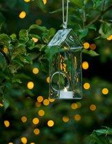 Sirius-Holger House-Windlichtjes met LED verlichting - klein -  set van 2 stuks