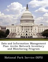 Data and Information Management Plan
