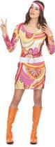 Hippie kostuum voor vrouwen - Verkleedkleding - Maat One Size
