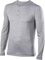 Falke Silk-Wool Ondergoed bovenlijf grijs Maat L