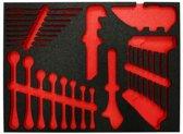 4Tecx Inlay Sleutels V Gereedschapwagen