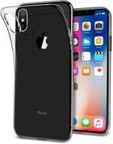 Apple iPhone XS MAX hoesje - Soft TPU case - transparant