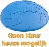 Rubber Frisbee Dog - Apporteren - Assorti - 22 cm