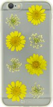 4-OK iPhone 6 / 6S Flower Cover Yellow Daisy