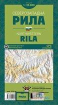 Rila Noordwest Wandelkaart Bulgarije