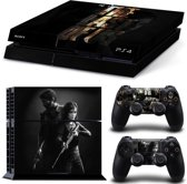 The Last of Us - PlayStation 4 sticker - PS4 console + 2 controller skin bundel