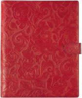 Schrijfmap A4 Luxe Rood Rosa 16 Mm