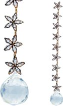 Stars and Unity Feng-Shui kristal raamdecoratie - 23.5 cm