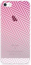 iPhone 5/5S/SE Hoesje Wavy Pink