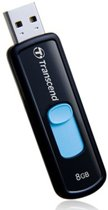 Transcend JetFlash 500 - USB-stick - 8 GB