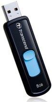 JetFlash 500 8GB - USB-Stick / Blauw