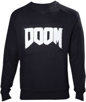 Doom Next Gen Logo Black Sweater XL