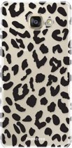 Samsung Galaxy A3 2017 - TPU Soft Case - Back Cover telefoonhoesje - Luipaard / Leopard Print