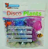 Superfish Disco Plants - Glitter - M - 20 cm - 6 St